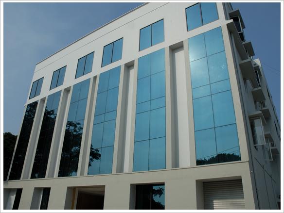 Front Elevation Of Hospital Building : Js aluminium